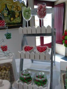 Mesas dulces elegantes a coruña