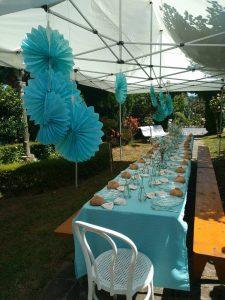 Organización fiesta bautizo A Coruña